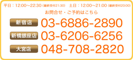 各店電話番号 画像